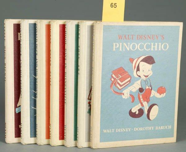 65: 7 Disney Books (1939-40).