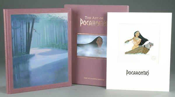 68: [DISNEY]. Stephen Rebello. The Art Of Pocahonta