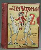 257 Baum The Tin Woodman of Oz 1918 1st ed