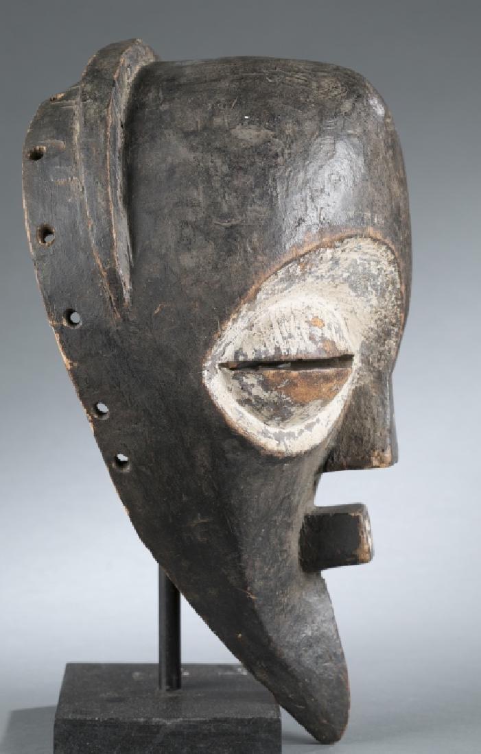 NgBaka style polychrome mask. c.20th century. - 2