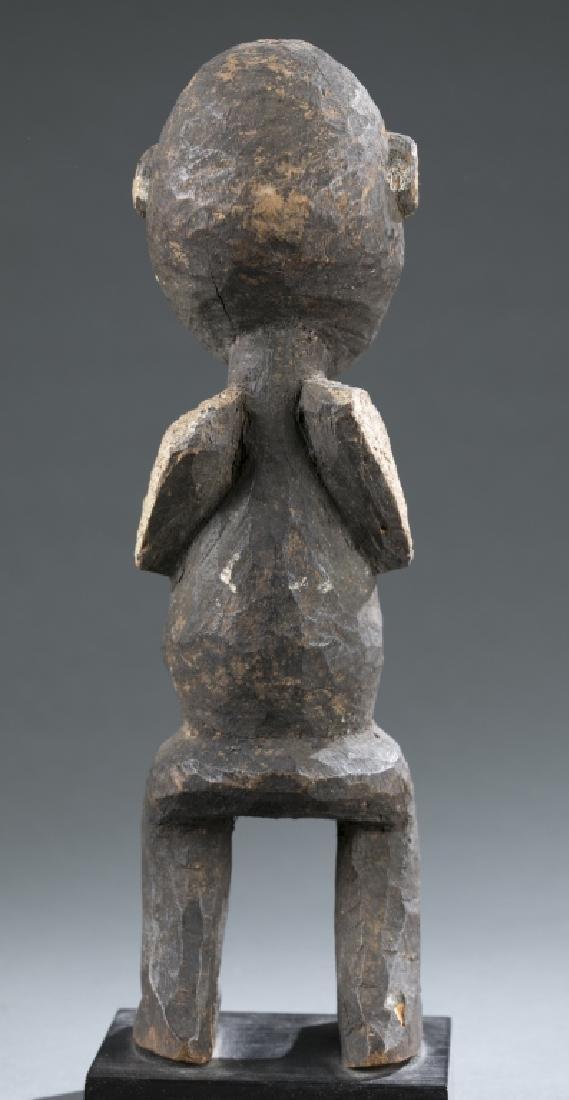 2 West African figures. c.20th century - 10