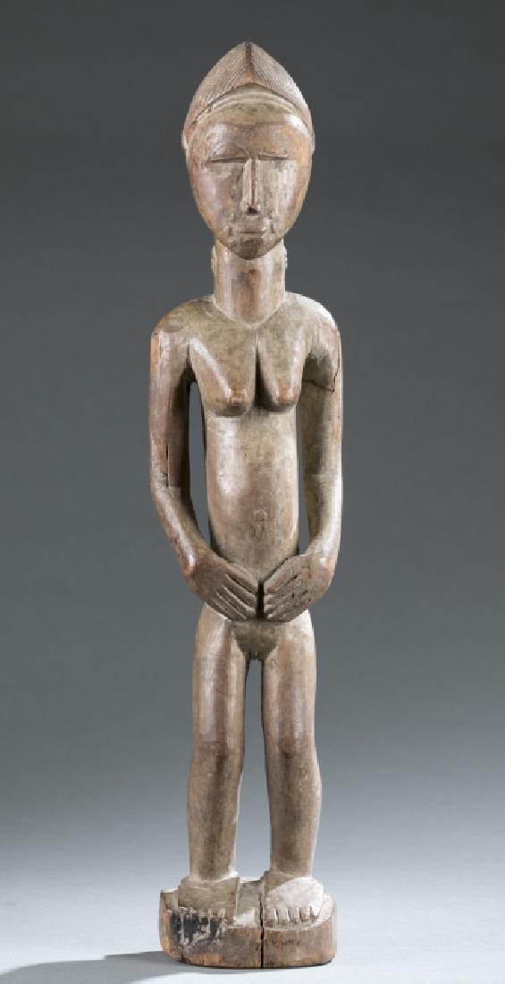2 West African figures. c.20th century - 2