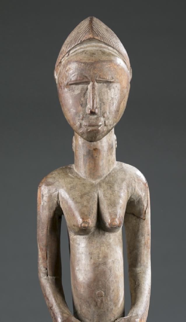 2 West African figures. c.20th century - 3