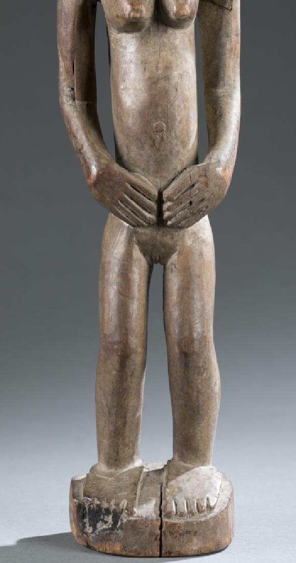 2 West African figures. c.20th century - 4