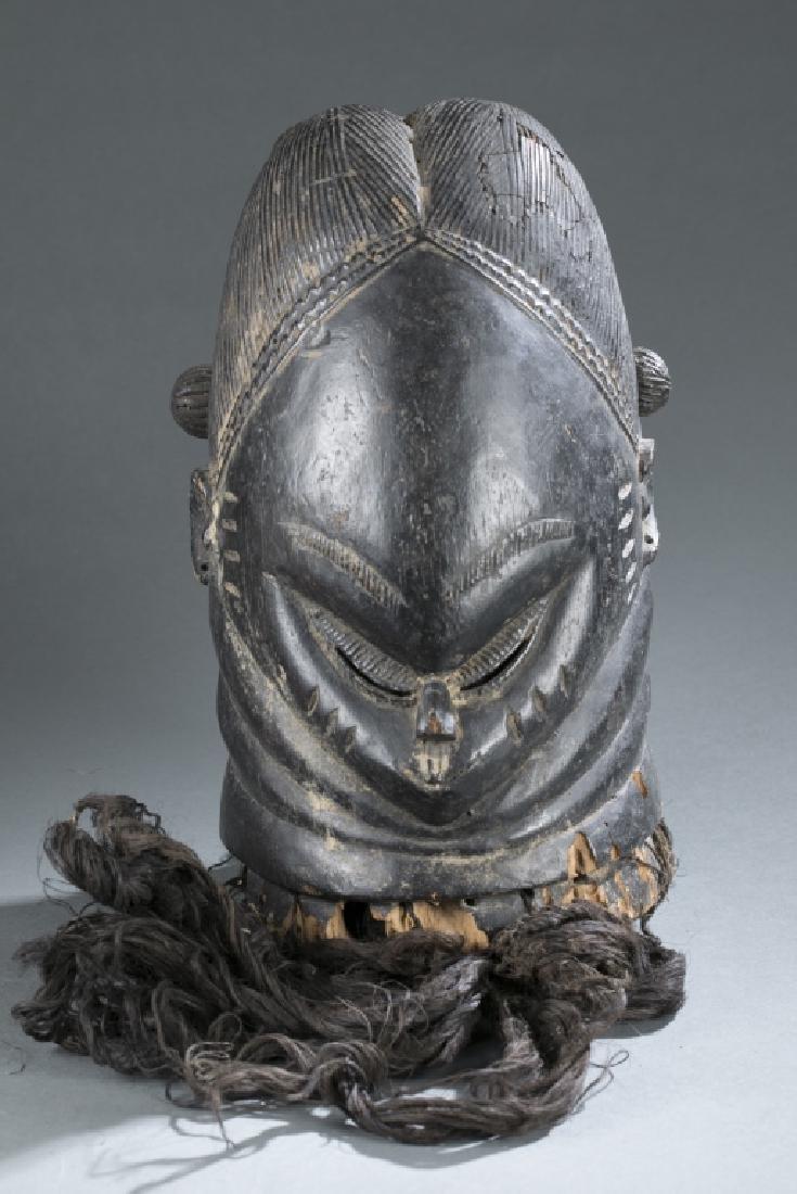 Bundu society helmet mask. c.20th century.