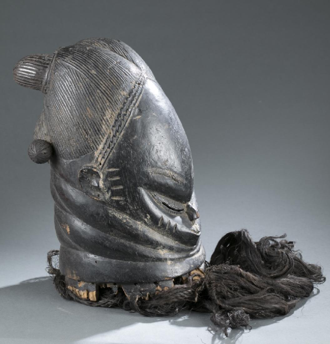 Bundu society helmet mask. c.20th century. - 2