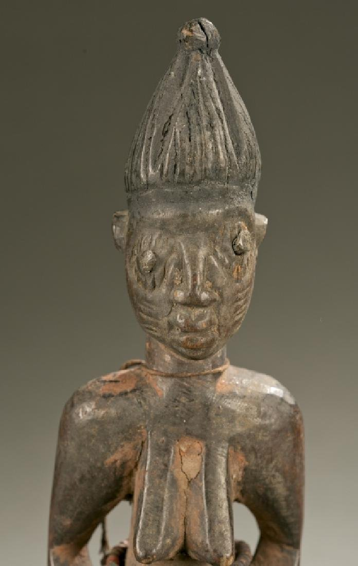 Yoruba female Ibeji figure, 20th c. - 2