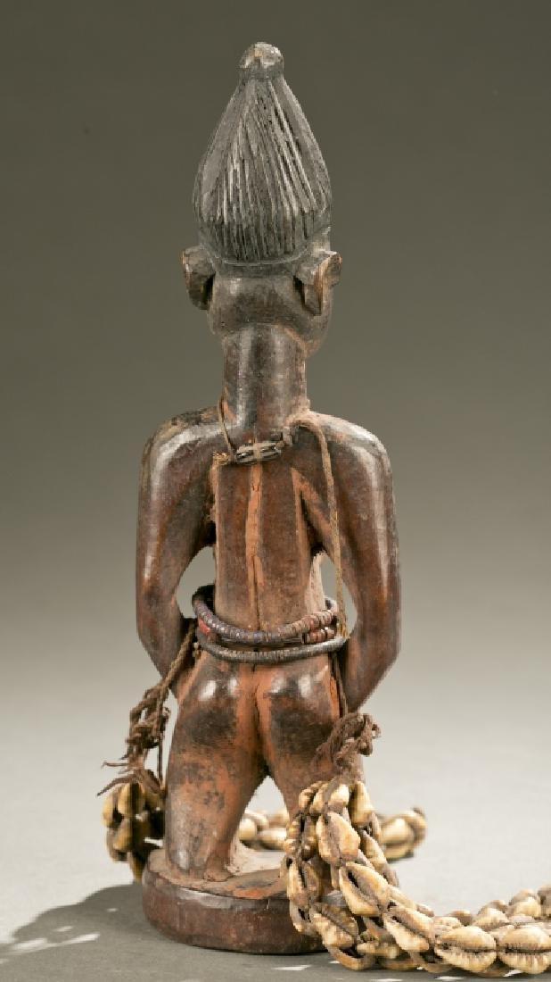 Yoruba female Ibeji figure, 20th c. - 3