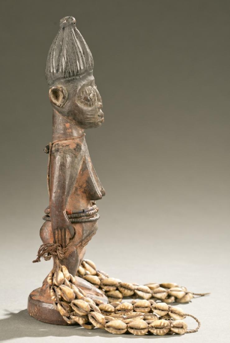 Yoruba female Ibeji figure, 20th c. - 4
