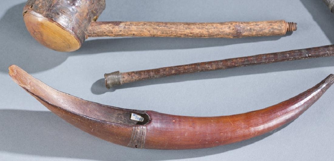 A group of pipes and utensils - 2