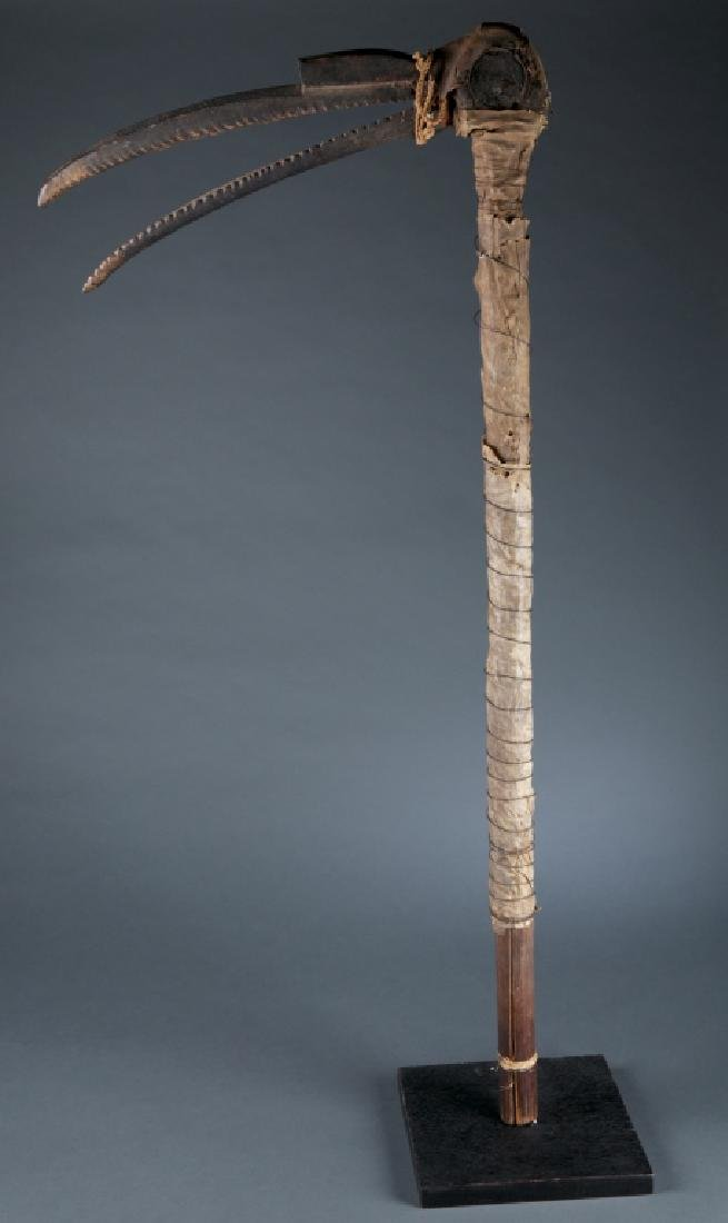 A hornbill dance staff.