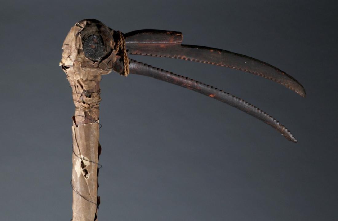 A hornbill dance staff. - 3