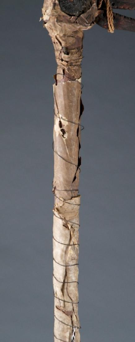 A hornbill dance staff. - 4