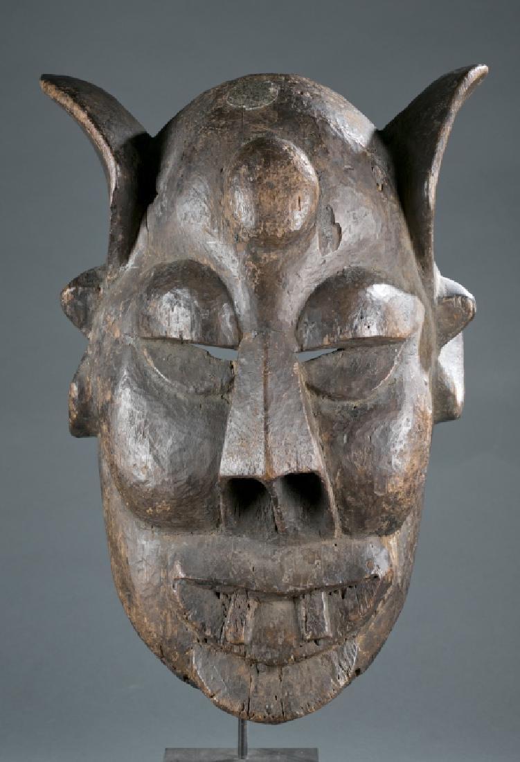 An Igbo masquerade mask.