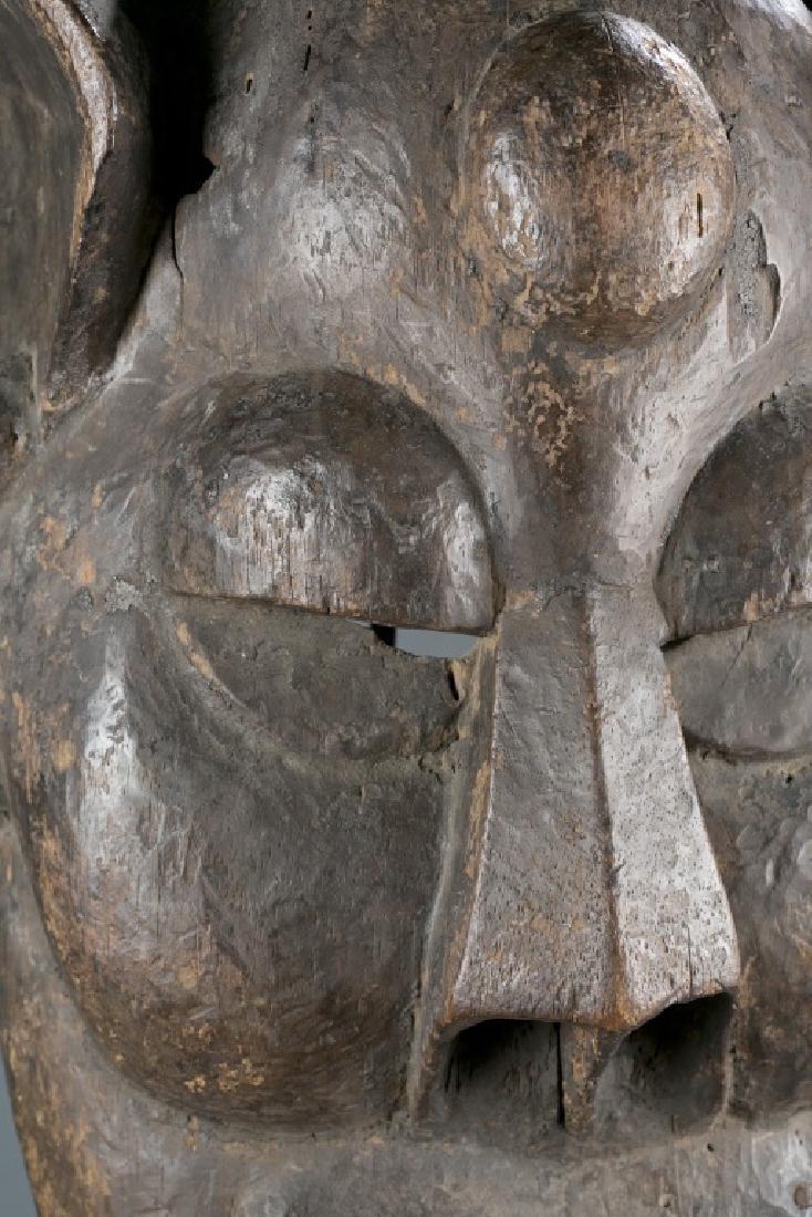 An Igbo masquerade mask. - 2