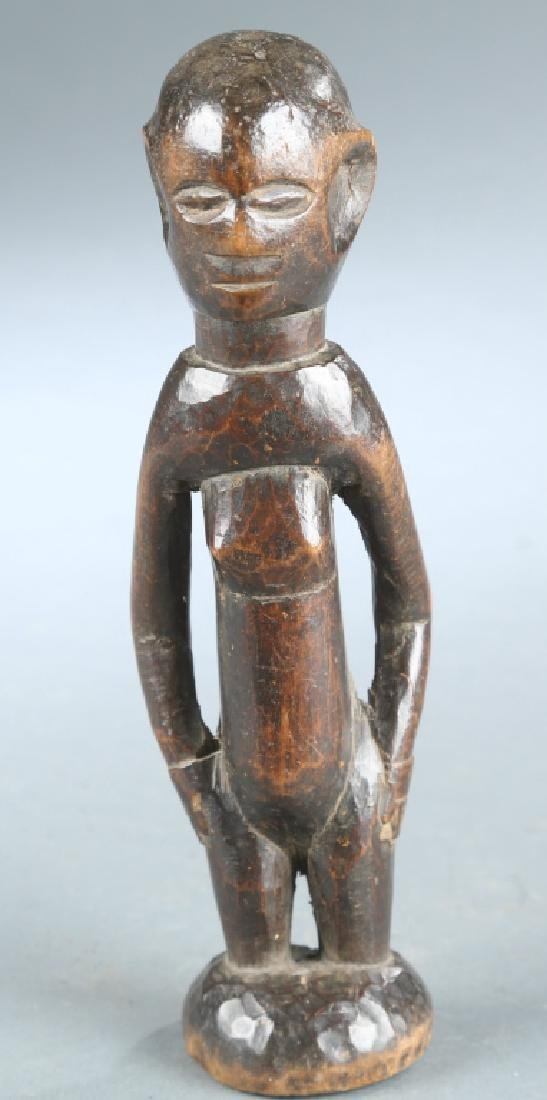 2 West African figures, 20th century. - 5
