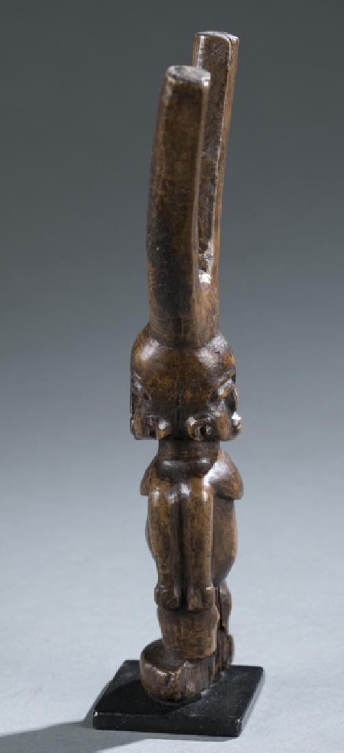 Akan style figural slingshot. c.20th century. - 4