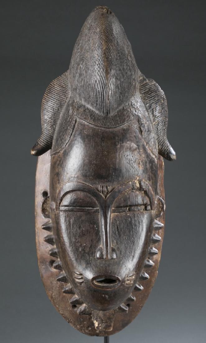 Baule style mask. c.20th century.