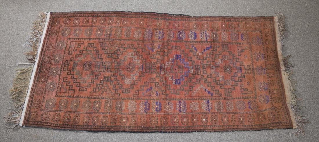 2 Afghan tribal turkarea rugs. c.20th century. - 2