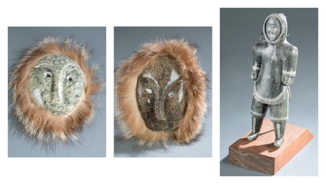 3 Native American style objects. c.20th century.