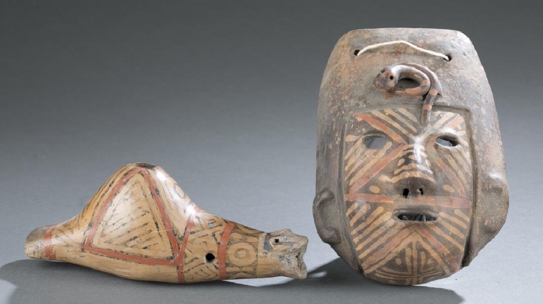 6 Native American style objects. c.20th century. - 4