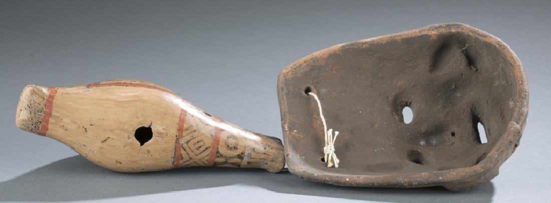 6 Native American style objects. c.20th century. - 5