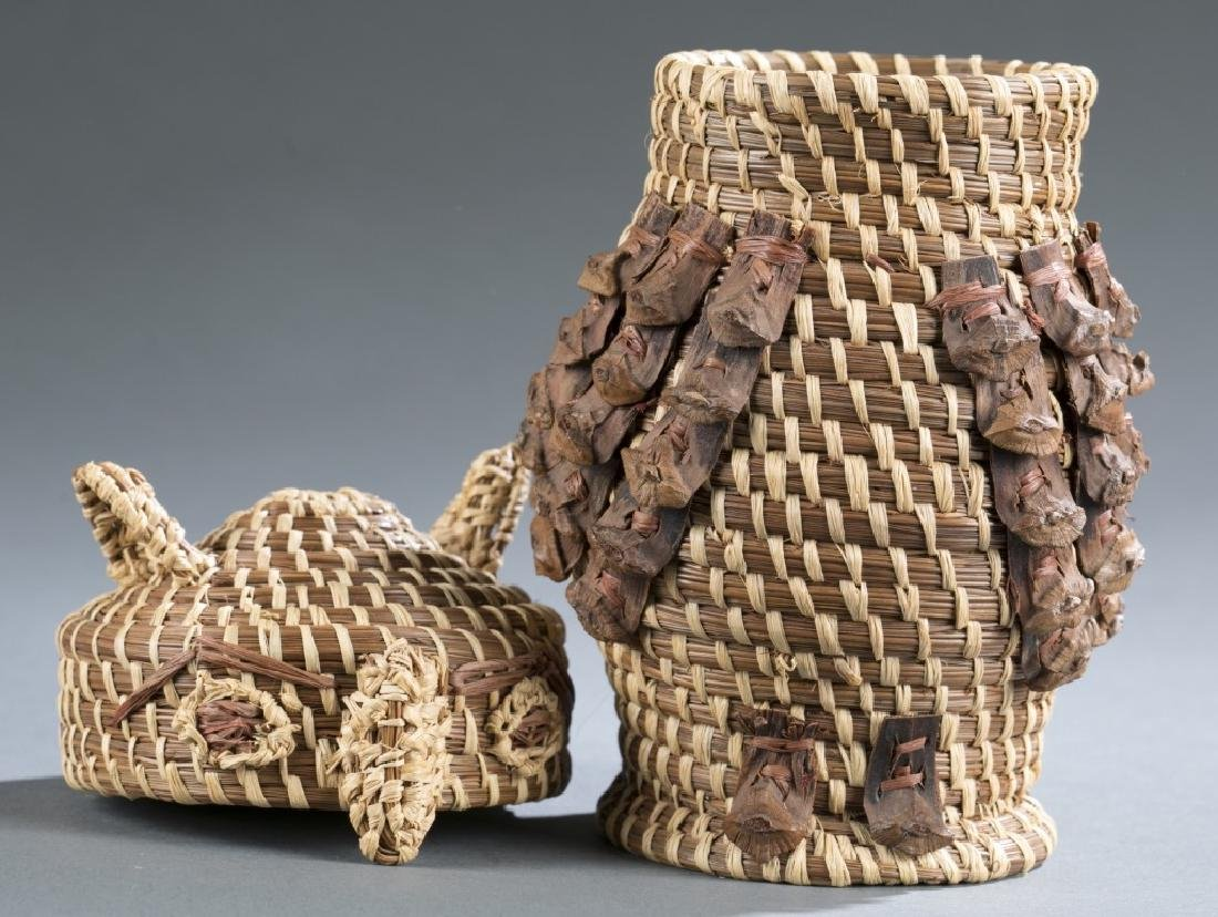 6 Native American style objects. c.20th century. - 6