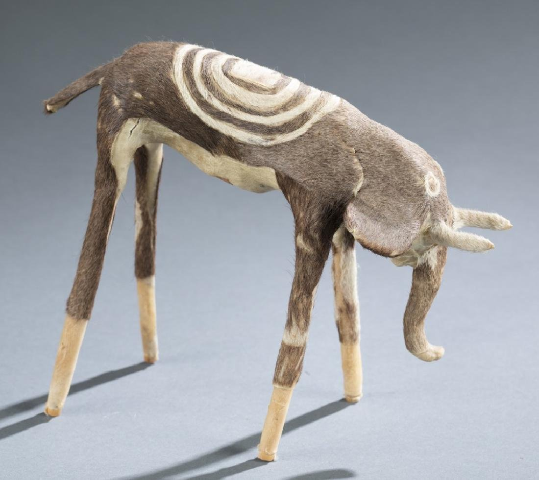 2 contemporary / folk African objects. - 5
