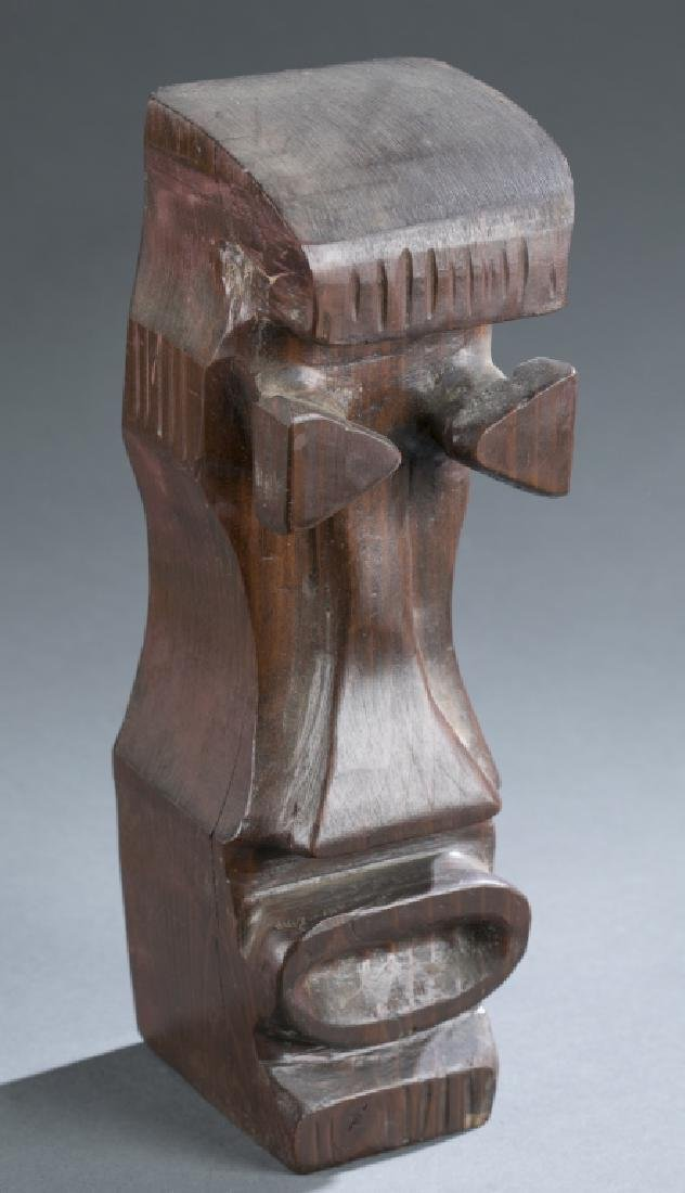 3 African style objects.  c.20th century. - 10