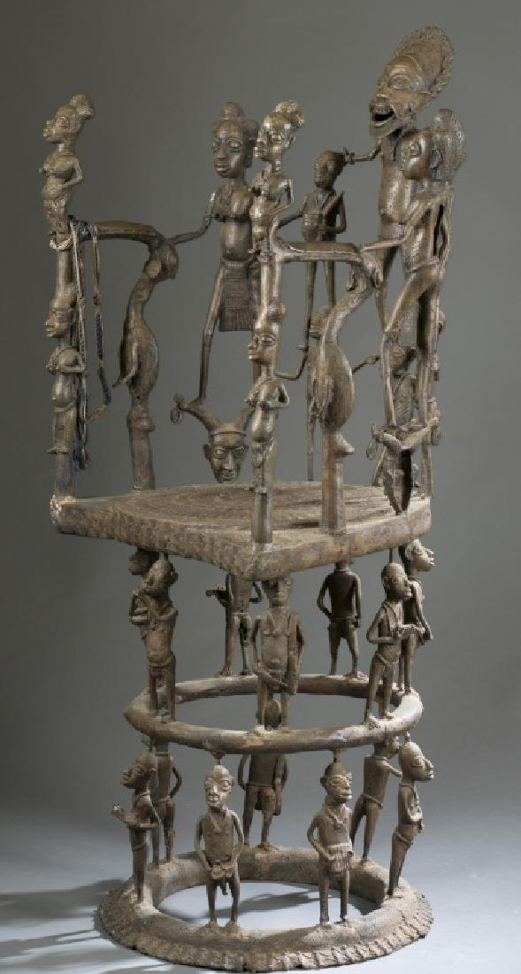 2 Cameroon style objects. c.20th century. - 10