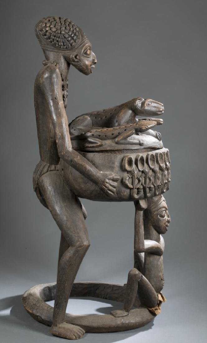 2 Cameroon style objects. c.20th century. - 3