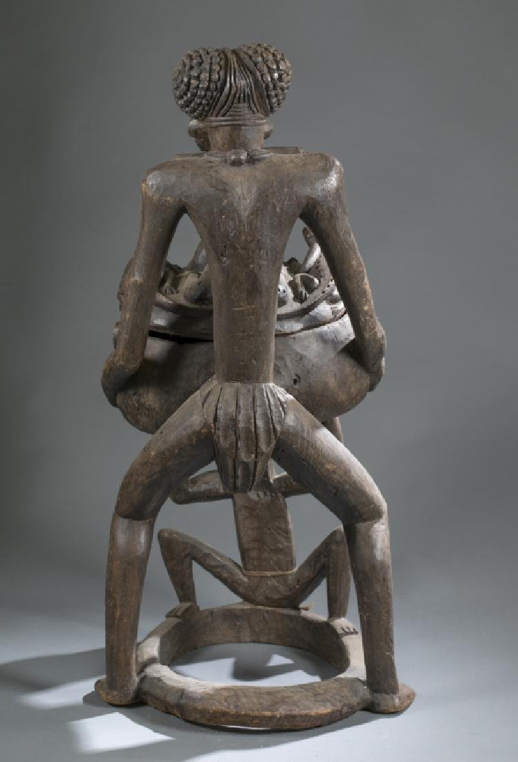 2 Cameroon style objects. c.20th century. - 4