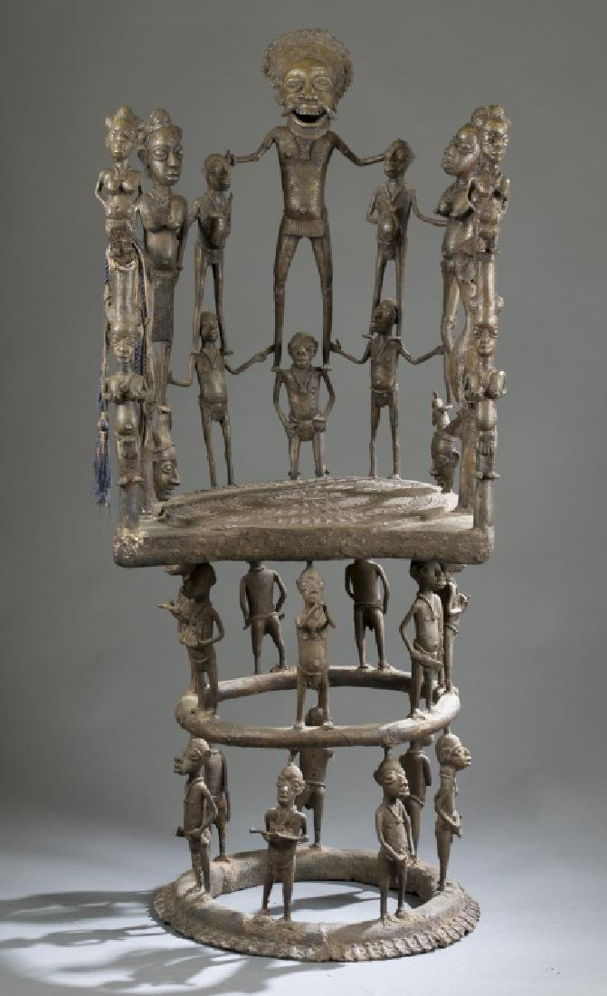 2 Cameroon style objects. c.20th century. - 5