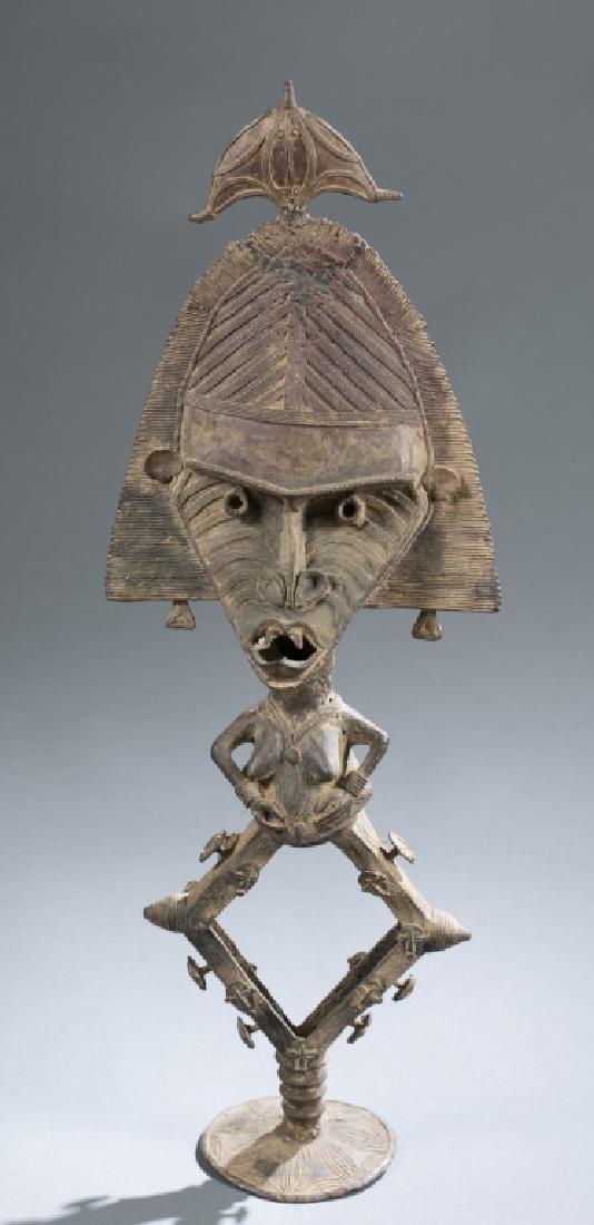 2 Kota reliquary objects. c.20th century. - 2