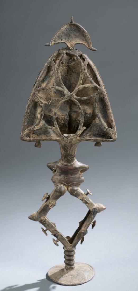 2 Kota reliquary objects. c.20th century. - 4