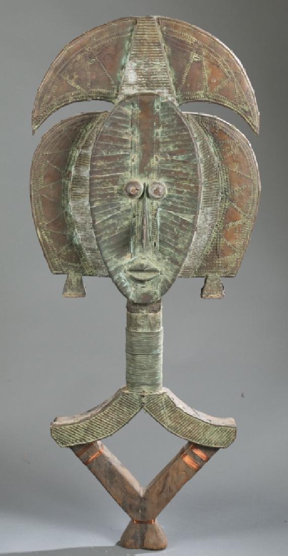 2 Kota reliquary objects. c.20th century. - 5
