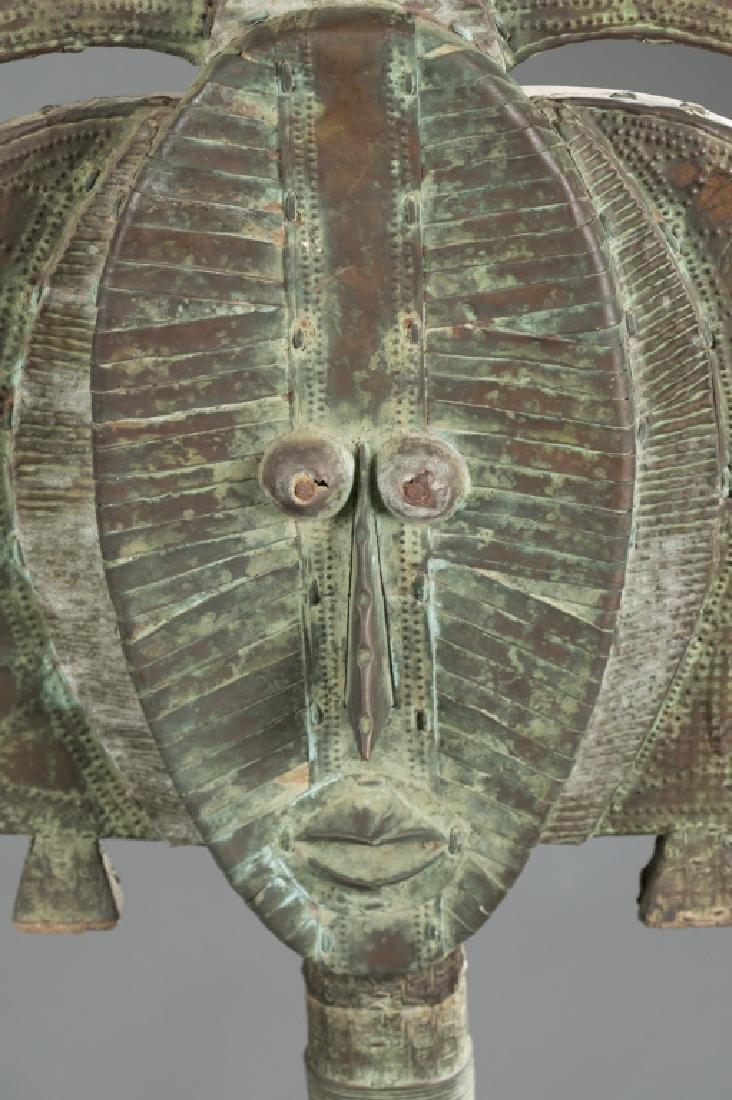 2 Kota reliquary objects. c.20th century. - 6