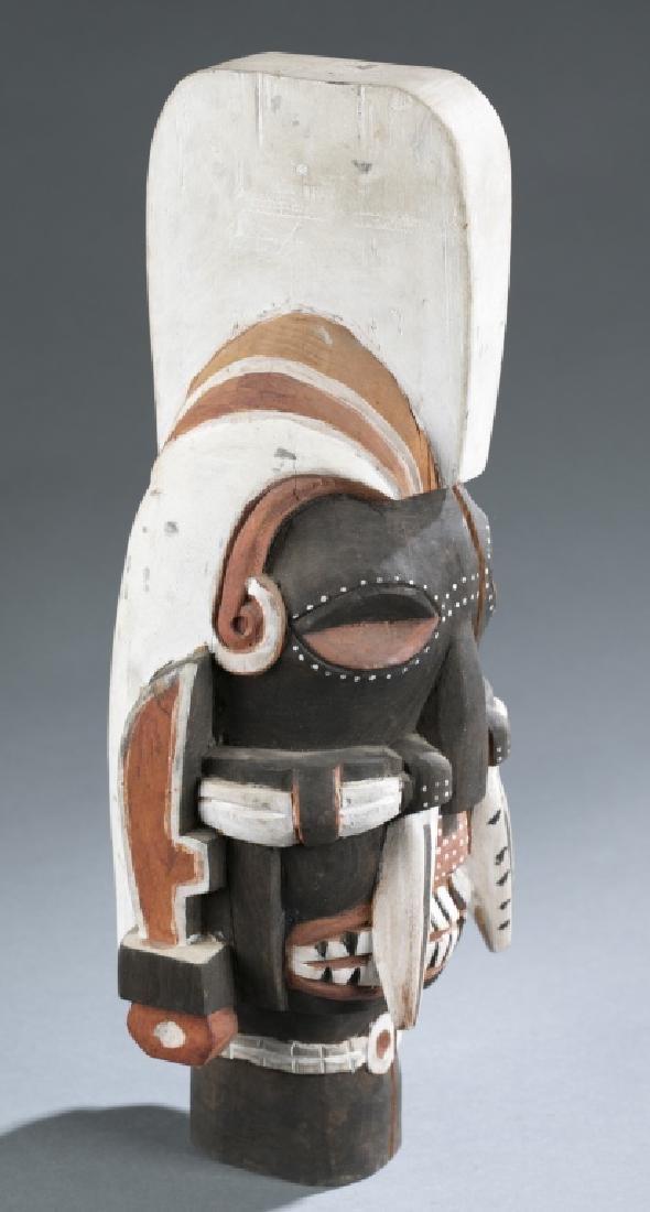 4 Sepik River style masks. c.20th century. - 7