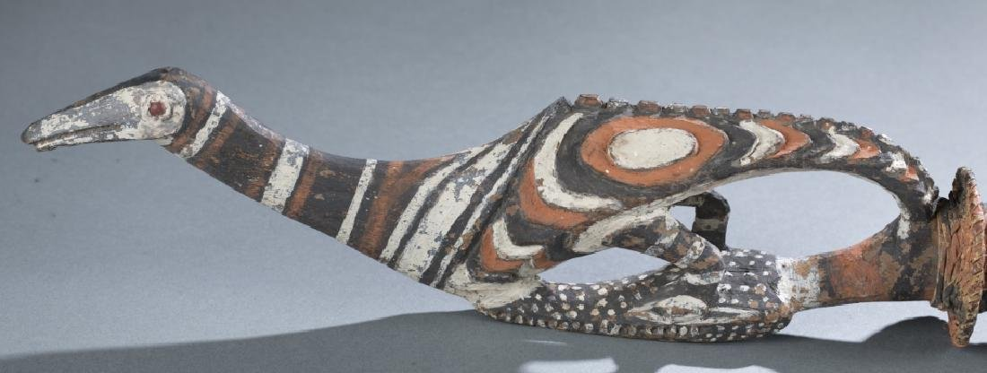 2 Sepik River style objects. c.20th century. - 2
