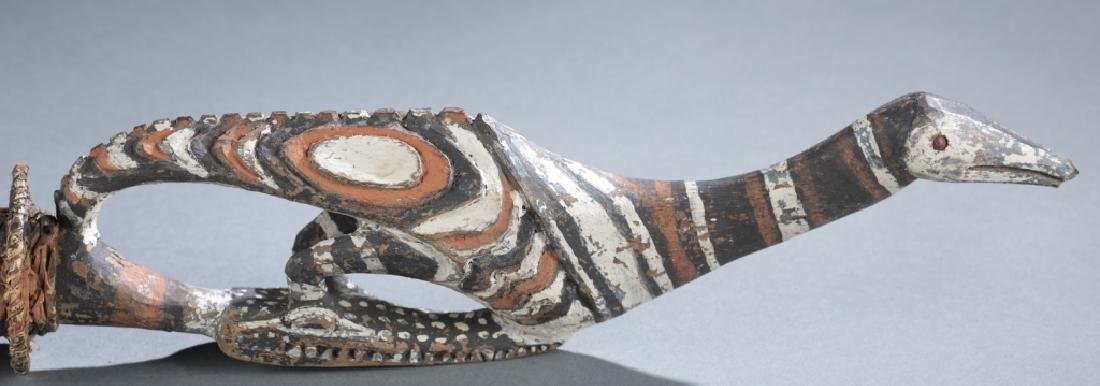 2 Sepik River style objects. c.20th century. - 4