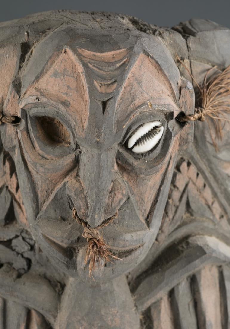 3 Sepik River style masks. c.20th century. - 2