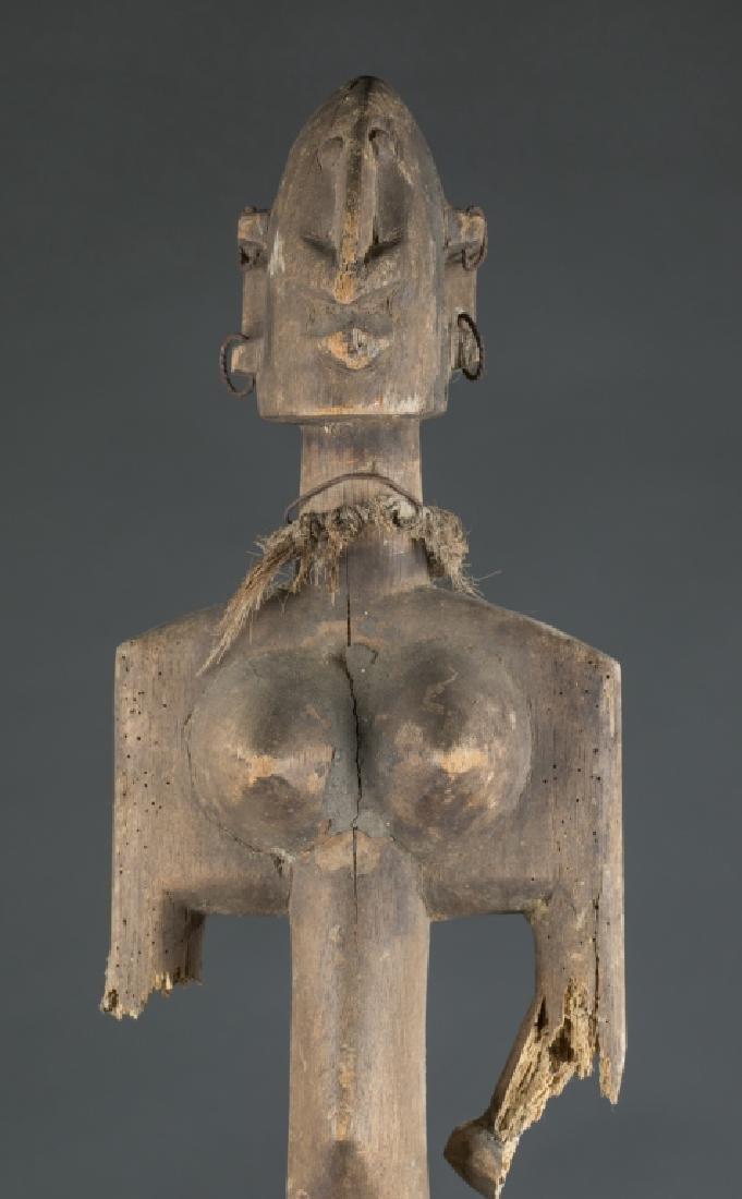 2 Dogon style figures. c.20th century. - 4