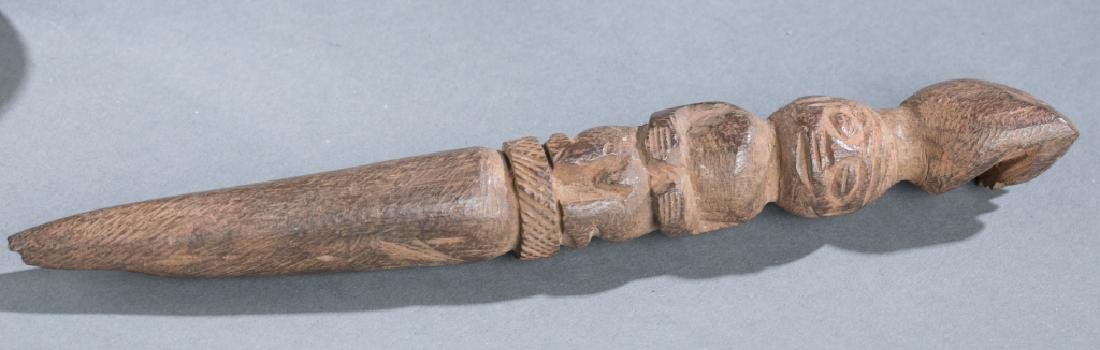 2 Yoruba divination objects. c.20th century. - 3