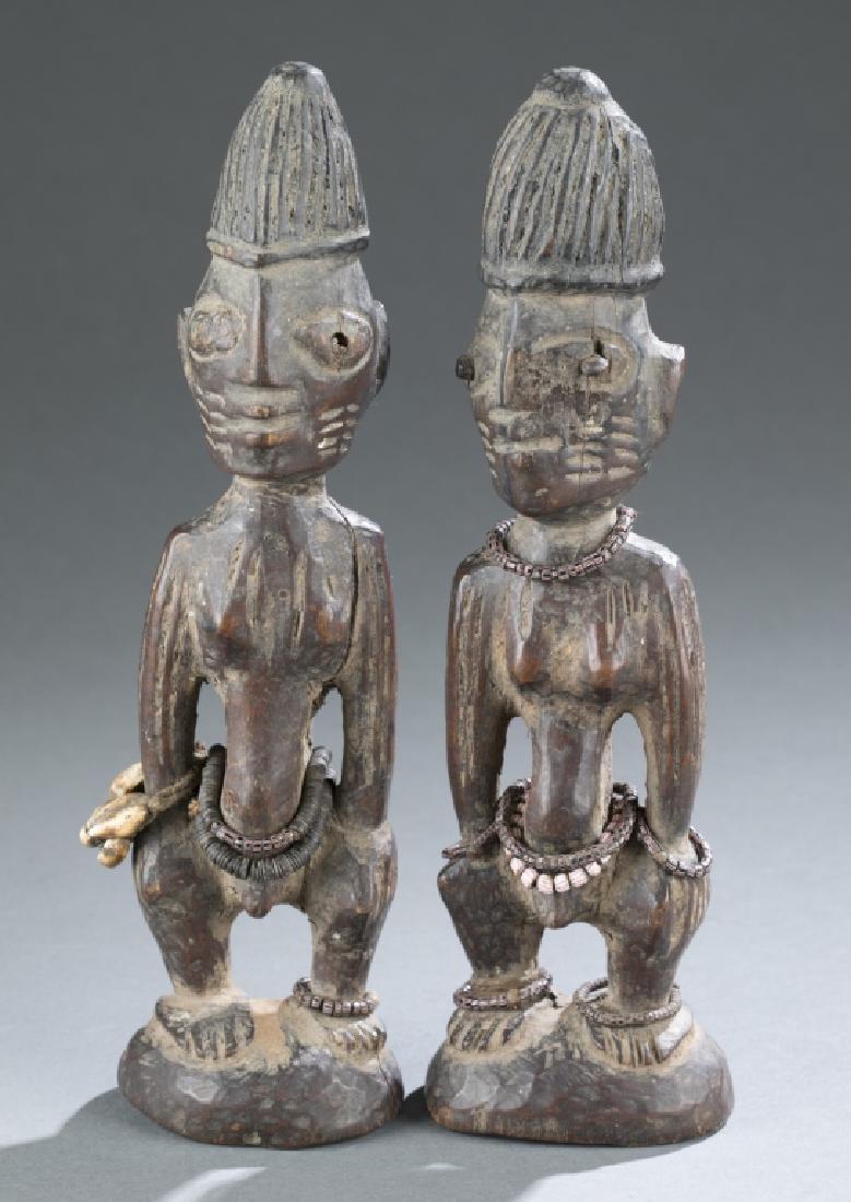 2 Ibeji figures