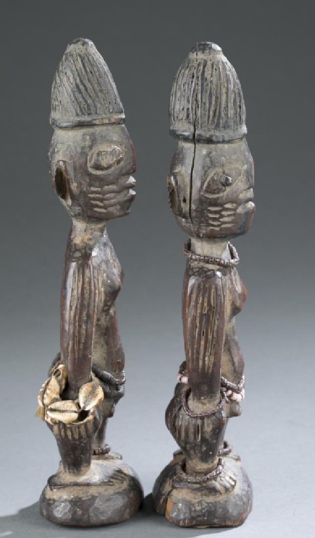 2 Ibeji figures - 2