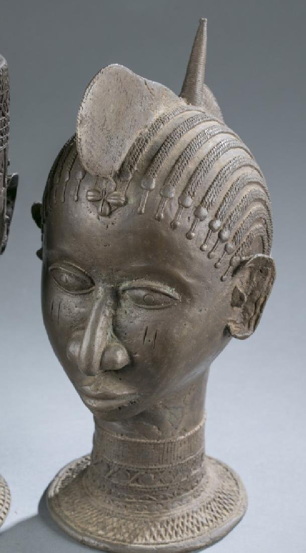4 Nigerian Brass objects. c.20th century. - 10