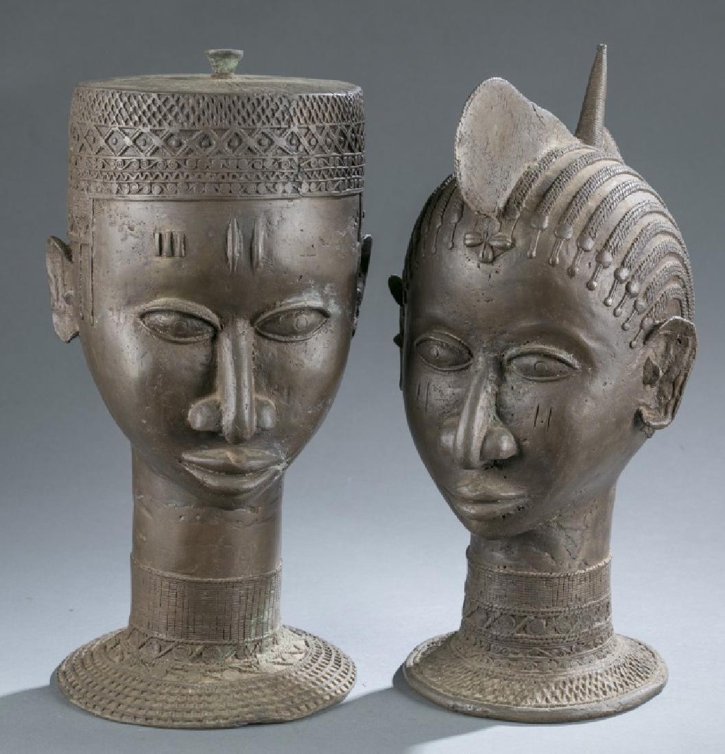 4 Nigerian Brass objects. c.20th century. - 2