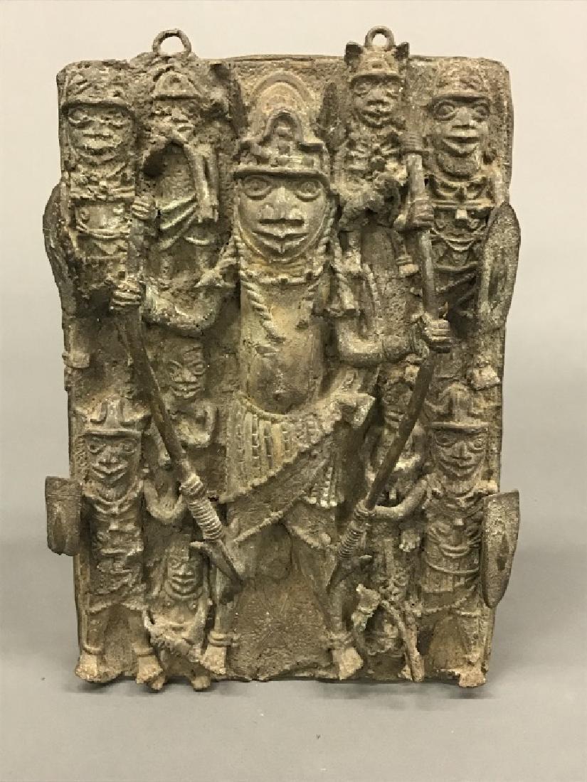 4 Nigerian Brass objects. c.20th century. - 3