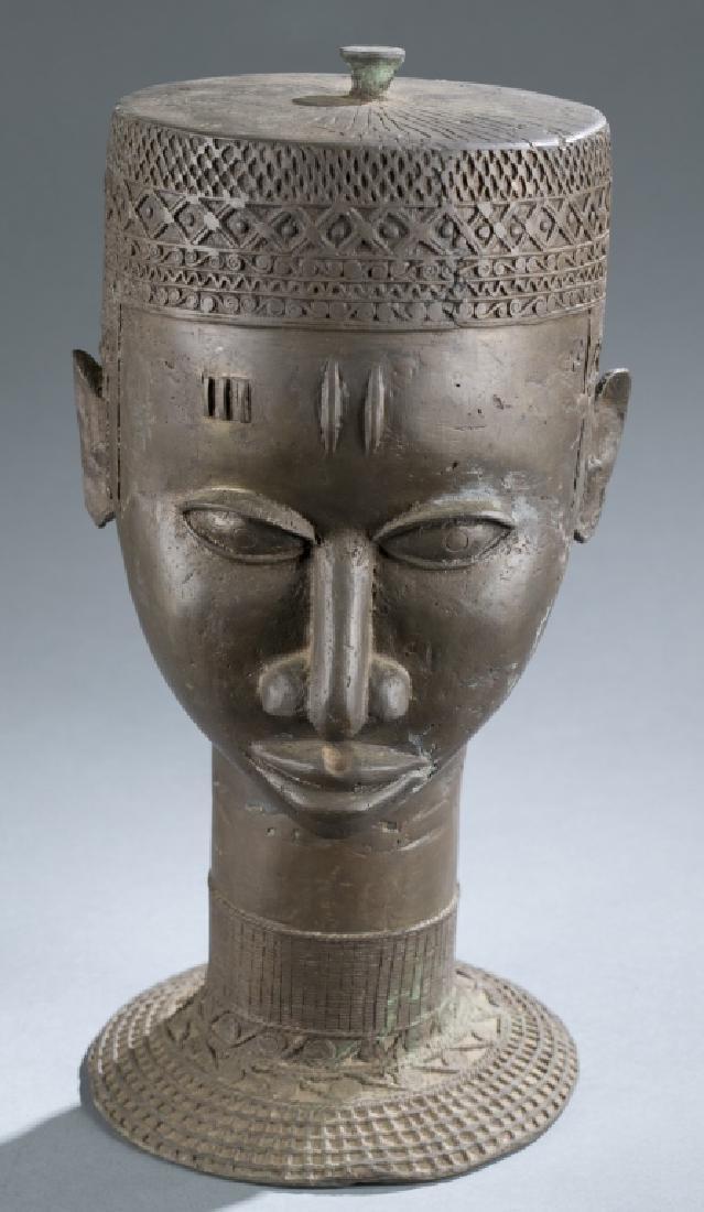 4 Nigerian Brass objects. c.20th century. - 5
