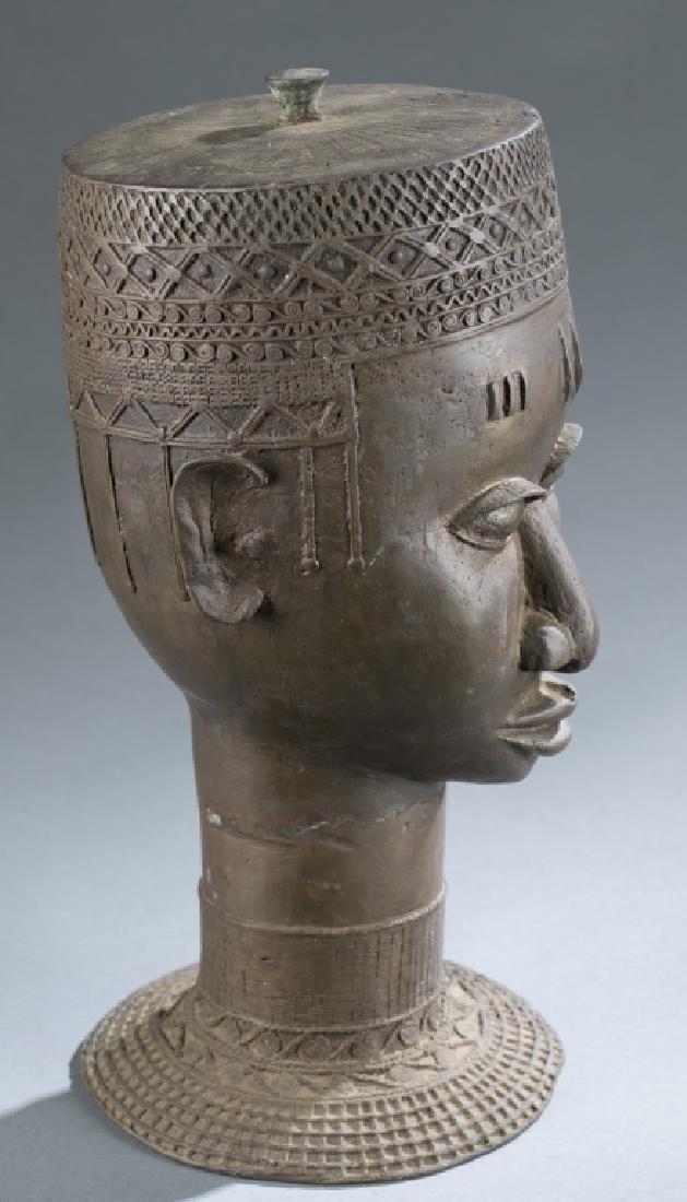 4 Nigerian Brass objects. c.20th century. - 6